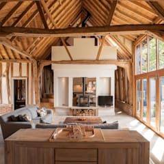 Living room by Beech Architects, Country