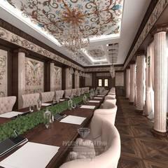 Salas de conferencias de estilo  por Студия дизайна интерьера Руслана и Марии Грин