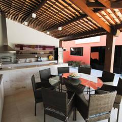 مسبح تنفيذ Argollo & Martins | Arquitetos Associados,