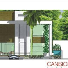 Casas de estilo  de Canisio Beeck Arquiteto, Moderno