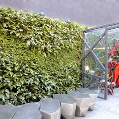 مكاتب ومحلات تنفيذ Quadro Vivo Urban Garden Roof & Vertical , حداثي