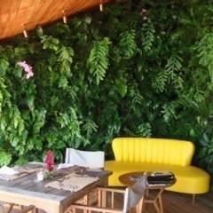 Projetos Diversos: Hotéis  por Quadro Vivo Urban Garden Roof & Vertical
