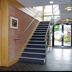 Staircase:  Schools by Elbourn Architects