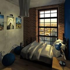 Przestrzeń nastolatki: styl , w kategorii Pokój dziecięcy zaprojektowany przez Agata Smok Wnętrza
