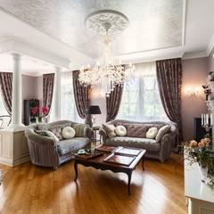 Salas de estilo  por AGRAFFE design