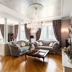 Salas de estilo  por AGRAFFE design, Clásico