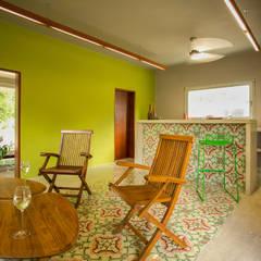 Loft Vivero: Salas de estilo  por TACO Taller de Arquitectura Contextual