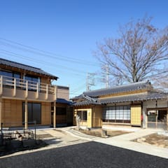 Classic style houses by 木の家設計室 アトリエ椿 Classic Wood Wood effect