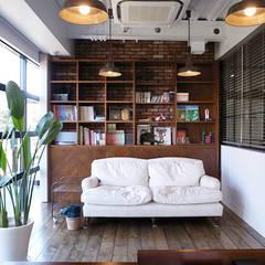 Phòng học/Văn phòng by 有限会社スタジオA建築設計事務所