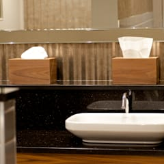 Horsley Lodge Washroom Refurbishment - Gents:  Hotels by Rachel McLane Ltd