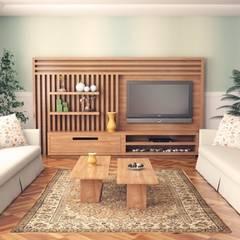 Salas / recibidores de estilo rústico por Sonmez Mobilya Avantgarde Boutique Modoko