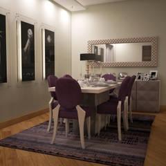 Sonmez Mobilya Avantgarde Boutique Modoko – Driade Salon Takımı: minimal tarz tarz Yemek Odası