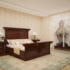 Sonmez Mobilya Avantgarde Boutique Modoko – Kuğu Ceviz Yatak Odası / Özel: rustik tarz tarz Yatak Odası
