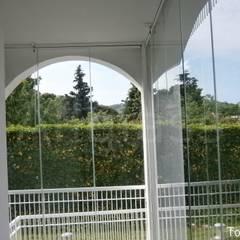 TERRAZAS: Jardines de invierno de estilo  de ALLGLASS CONFORT SYSTEM