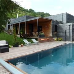 Côté sud, quelques années après...: Maisons de style  par Cléo Chatelet Architecte