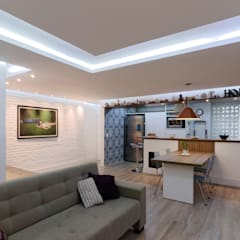 Dining room by Raphael Civille Arquitetura,