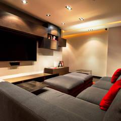 اتاق تفریحات رسانه ای توسطConcepto Taller de Arquitectura, مدرن