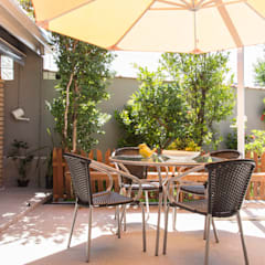 Jardines tropicales de Marcos Contrera Arquitetura & Interiores Tropical