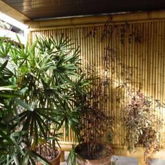بلكونة أو شرفة تنفيذ Bambu Rei Eco-Design , ريفي