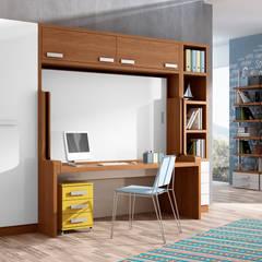CAMA DE 135X190 CONVERTIBLE EN MESA, : Dormitorios de estilo  de Muebles Parchis. Dormitorios Juveniles.