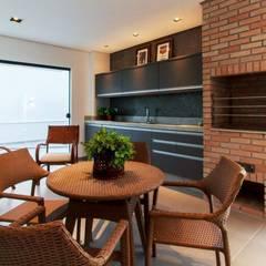 Espaço gourmet:  Terrace by Tony Santos Arquitetura