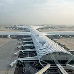 Aeropuertos de estilo  por Knippers Helbig Advanced Engineering