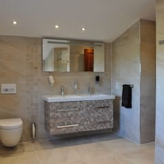Basin & WC:  Bathroom by Daman of Witham Ltd