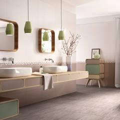 Cote d'Azure Tile Series:  Bathroom by Tileflair