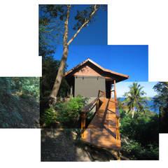 GANNE house - access ramp: Maisons de style  par STUDY CASE sas d'Architecture