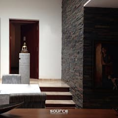 Kalro Villa:  Dining room by Source Architecture