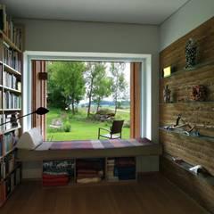 ห้องทำงาน/อ่านหนังสือ by zauner I architektur