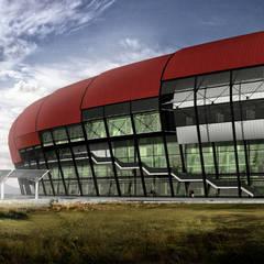 Arkinom Studio – Hatay 25.000 Seyirci Kapasiteli Stadyum Tasarımı:  tarz Stadyumlar