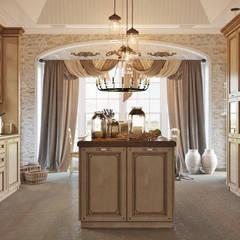 colonial Kitchen by Студия дизайна Interior Design IDEAS