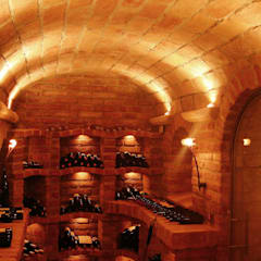 Wine cellar by Atelier Markus Petz