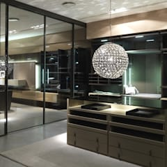 Island units:  Dressing room by Lamco Design LTD