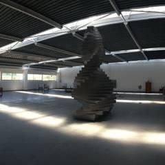 Nave de eventos L.SANTOS estudiocincocincouno 2013: Salones de eventos de estilo  de estudio551
