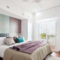 ห้องนอน by Home Deco Decoración