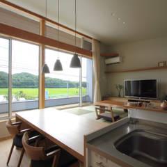 غرفة السفرة تنفيذ 福田康紀建築計画
