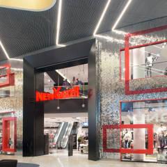 """Highlightfassade """"Glamour Walk"""":  Einkaufscenter von KPLUS KONZEPT GMBH"""