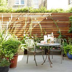 Open-Plan Kitchen/Living Room, Ladbroke Walk, London :  Garden by Cue & Co of London