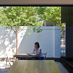 The Nook Converted Bakery:  Garden by NRAP Architects