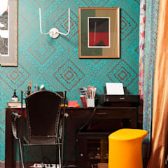 Modern study/office by Бюро Акимова и Топорова Modern