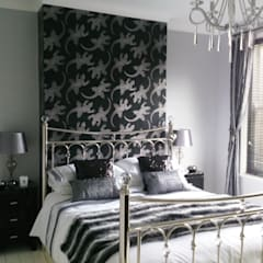 Bedroom:  Bedroom by Kerry Holden Interiors