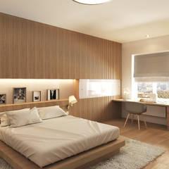 2-й вариант гостевой спальни (окончательный): Спальни в . Автор – ECOForma