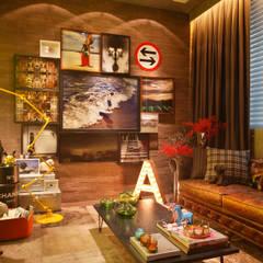 industrial Living room by Studio ro+ca