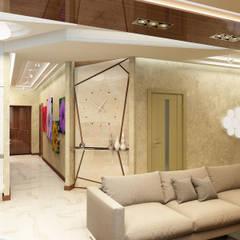 Стильная кухня в едином пространстве: Столовые комнаты в . Автор – Anfilada Interior Design,