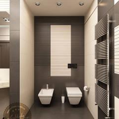 Ванная комната с сауной: Ванные комнаты в . Автор – Anfilada Interior Design,