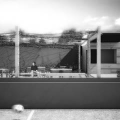 DEPORTIVO TEPEPAN: Estadios de estilo  por gOO Arquitectos, Industrial