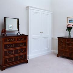 Georgian Country House:  Dressing room by Etons of Bath