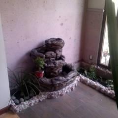 Recibidor: Jardines de estilo ecléctico por Estudio Ideas